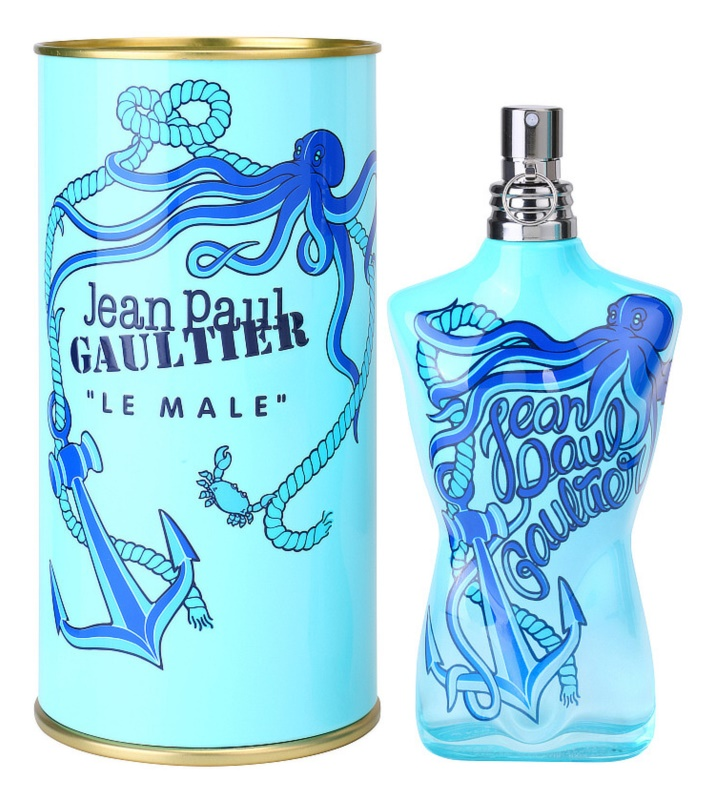 Jean Paul Gaultier Le Male Summer 2014 kolínská voda pro muže 125 ml