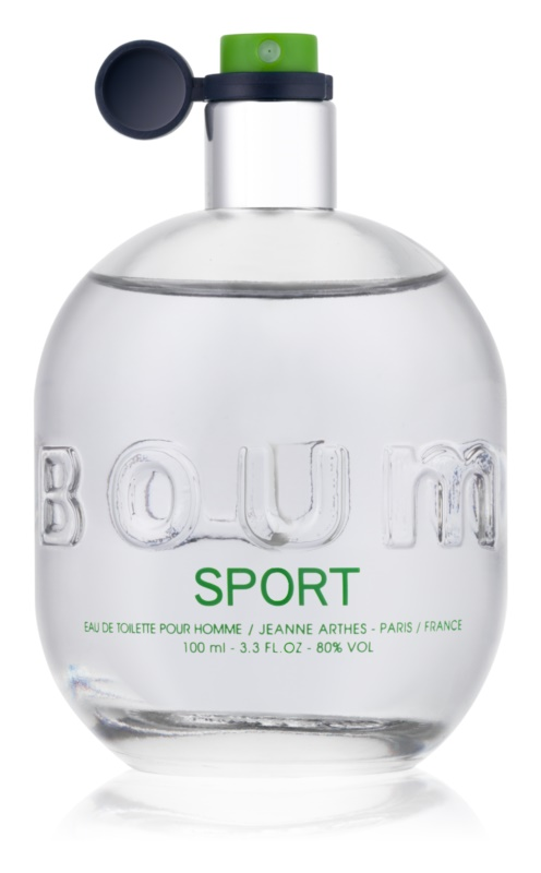 Jeanne Arthes Boum Sport Eau de Toilette for Men 100 ml
