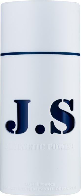 Jeanne Arthes J.S. Magnetic Power Navy Blue eau de toilette per uomo 100 ml