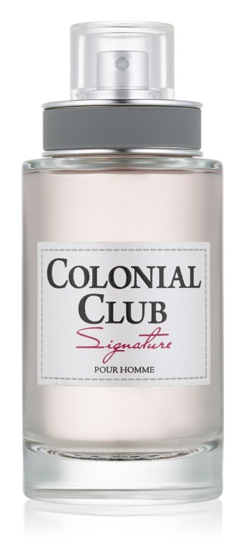 Jeanne Arthes Colonial Club Signature Eau de Toilette for Men 100 ml
