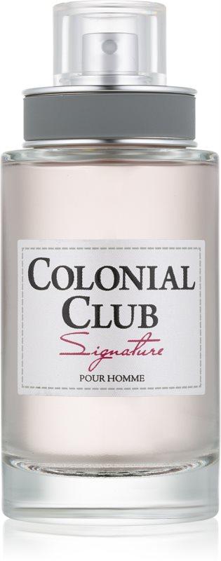 Jeanne Arthes Colonial Club Signature toaletní voda pro muže 100 ml