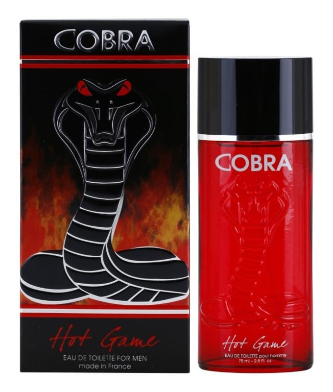 Jeanne Arthes Cobra Hot Game Eau de Toilette für Herren 75 ml