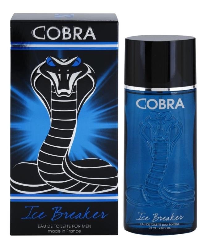 Jeanne Arthes Cobra Ice Breaker Eau de Toilette for Men 75 ml