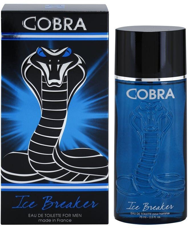 Jeanne Arthes Cobra Ice Breaker Eau de Toillete για άνδρες 75 μλ
