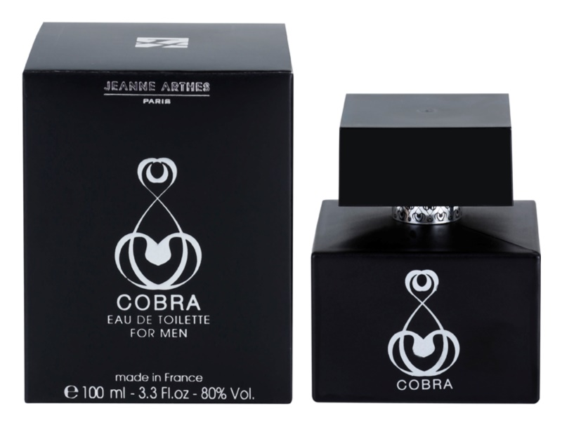 Jeanne Arthes Cobra for Him Version Inedite Eau de Toilette für Herren 100 ml