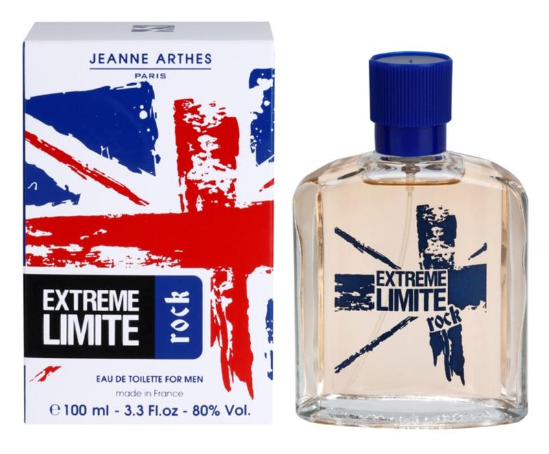 Jeanne Arthes Extreme Limite Rock eau de toilette férfiaknak 100 ml