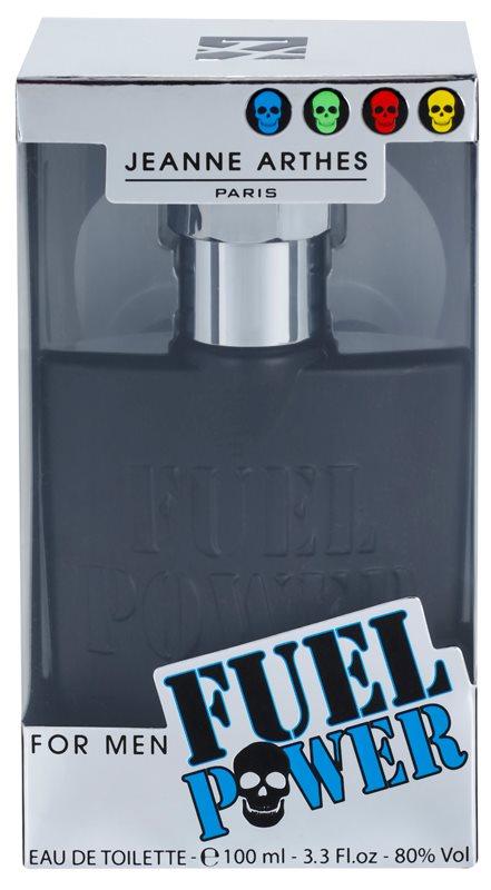 Jeanne Arthes Fuel Power eau de toilette pentru barbati 100 ml