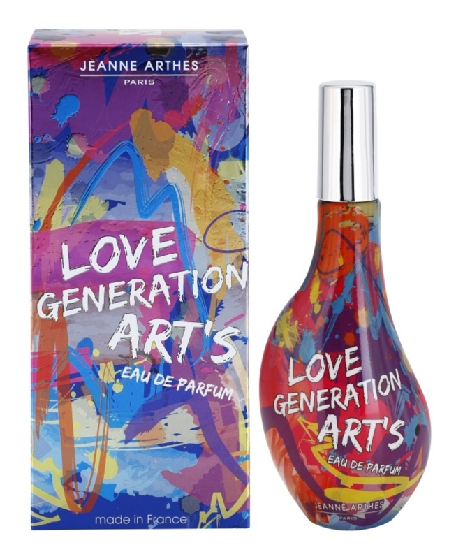 Jeanne Arthes Love Generation Art's парфюмна вода за жени 60 мл.
