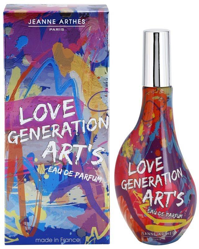 Jeanne Arthes Love Generation Art's Eau de Parfum for Women 60 ml
