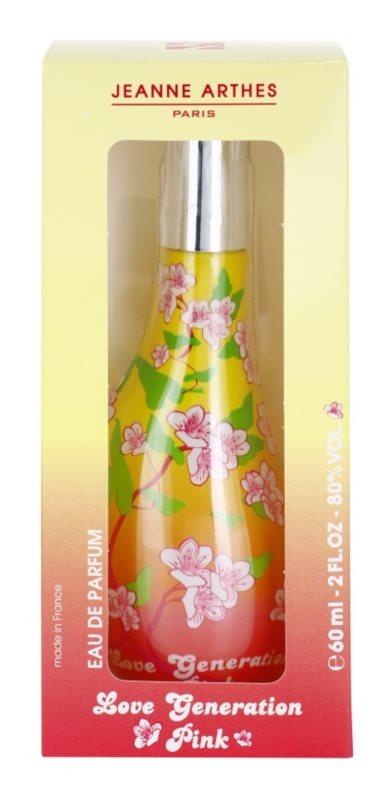 Jeanne Arthes Love Generation Pink eau de parfum pour femme 60 ml