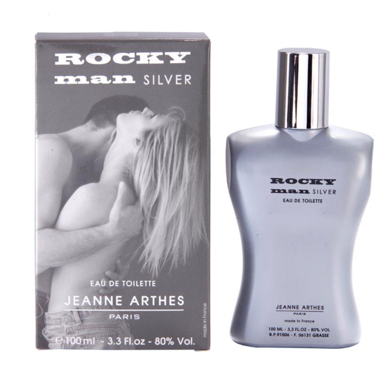 Jeanne Arthes Rocky Man Silver woda toaletowa dla mężczyzn 100 ml