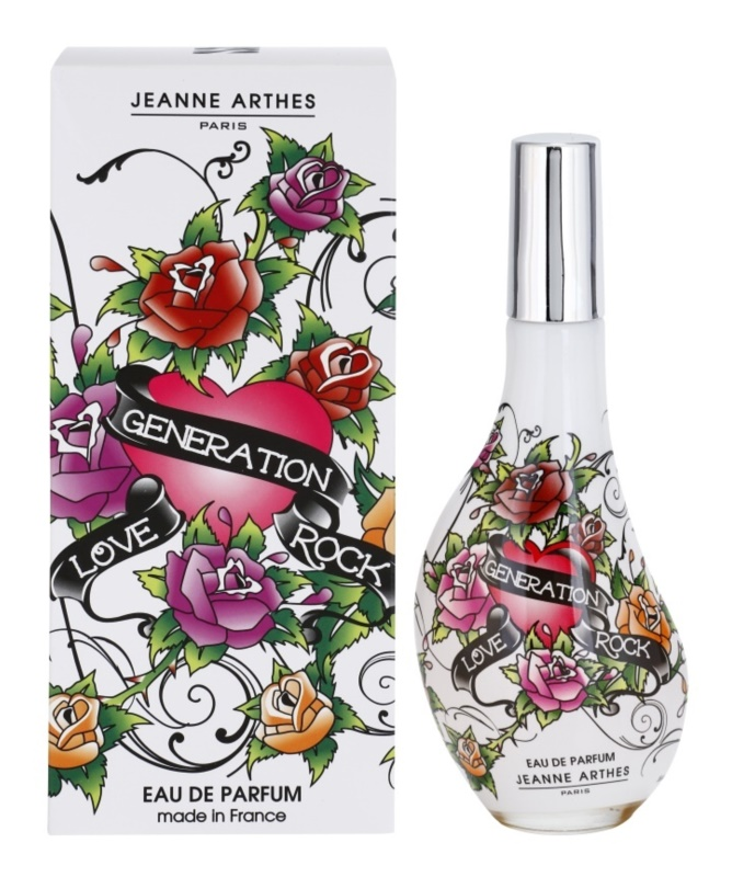 Jeanne Arthes Love Generation Rock eau de parfum nőknek 60 ml
