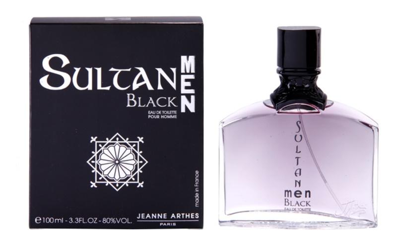Jeanne Arthes Sultane Men Black eau de toilette férfiaknak 100 ml