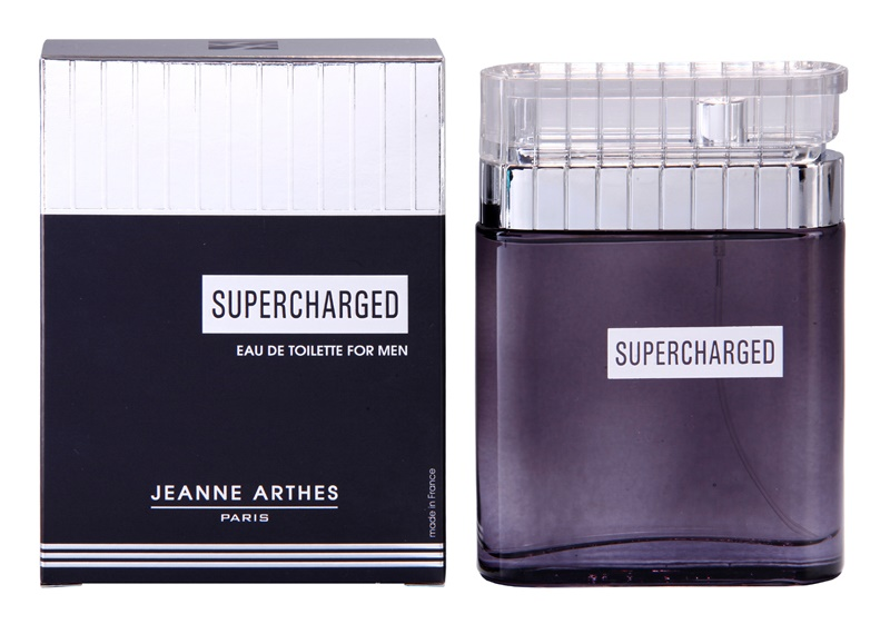 Jeanne Arthes Supercharged toaletní voda pro muže 100 ml