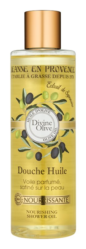 Jeanne en Provence Divine Olive Shower Oil with Nourishing Effect