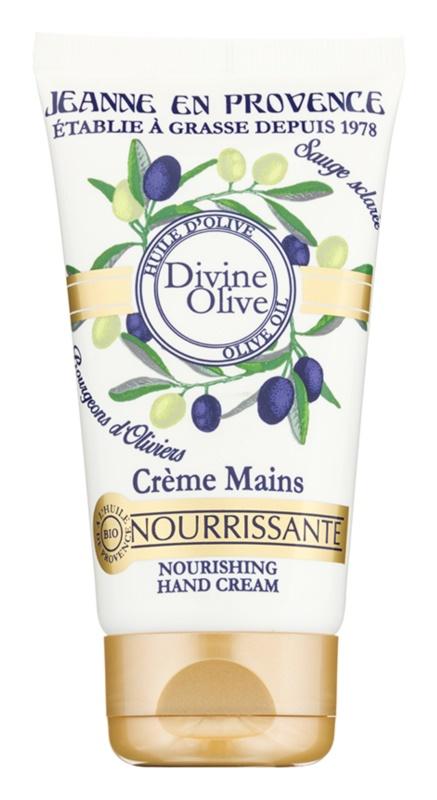 Jeanne en Provence Divine Olive crema de maini cu efect de nutritiv