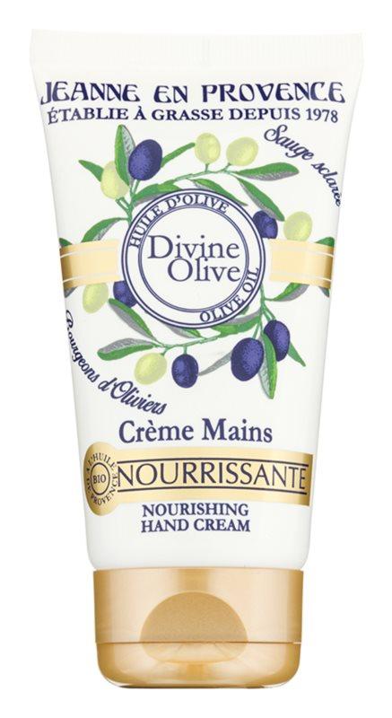 Jeanne en Provence Divine Olive crema de manos con efecto nutritivo