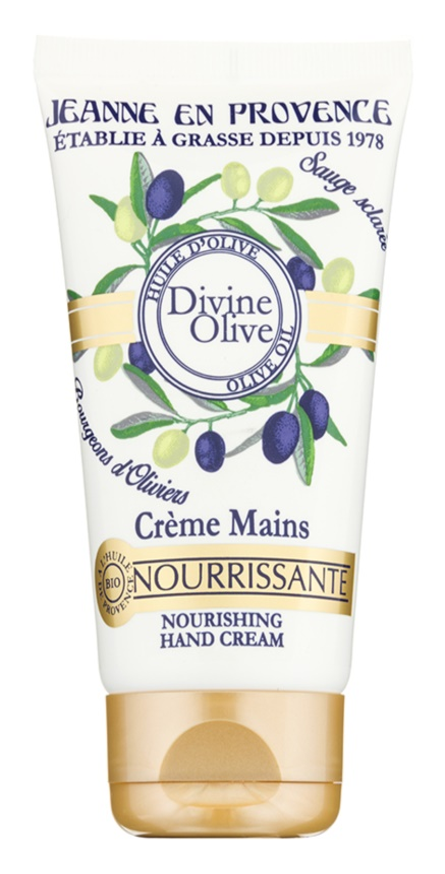 Jeanne en Provence Divine Olive krém na ruce s vyživujícím účinkem