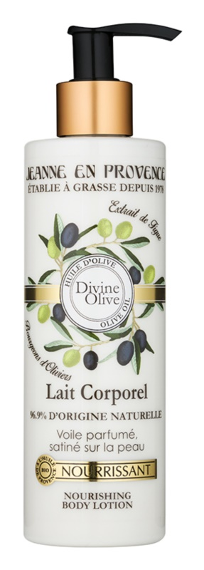 Jeanne en Provence Divine Olive Nourishing Body Milk With Olive Oil