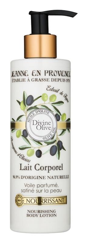 Jeanne en Provence Divine Olive поживне молочко для тіла з оливковою олією