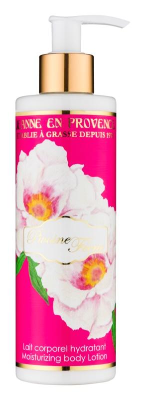 Jeanne en Provence Pivoine Féerie Feuchtigkeits-Körpermilch Pfingstrose