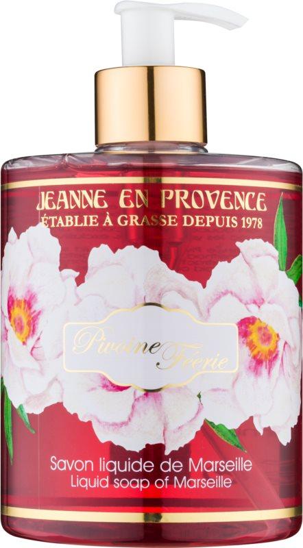 Jeanne en Provence Pivoine Féerie Săpun lichid pentru mâini bujor