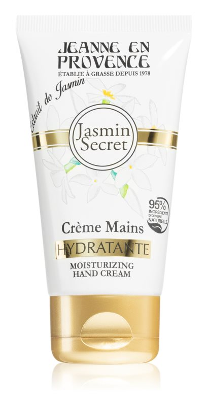 Jeanne en Provence Jasmin Secret hydratační krém na ruce