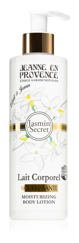 Jeanne en Provence Jasmin Secret lotiune de corp unt de shea