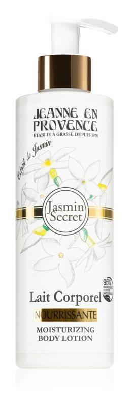 Jeanne en Provence Jasmin Secret молочко для тіла з бамбуковою олійкою