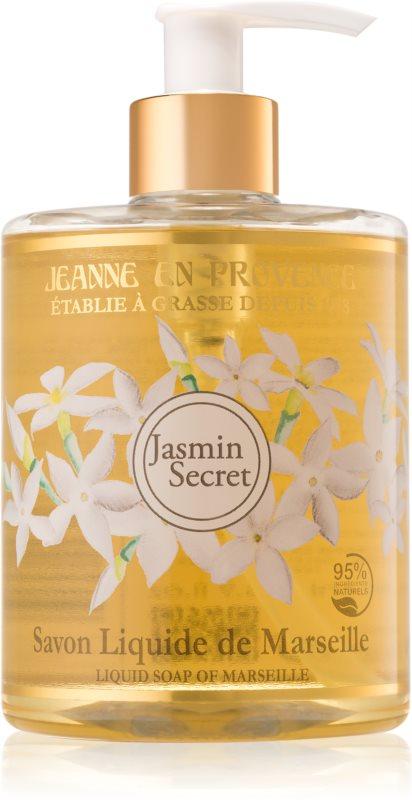 Jeanne en Provence Jasmin Secret Săpun lichid pentru mâini