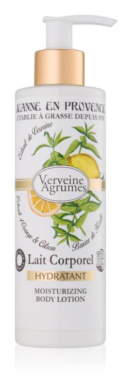 Jeanne en Provence Verveine Agrumes hydratačné telové mlieko