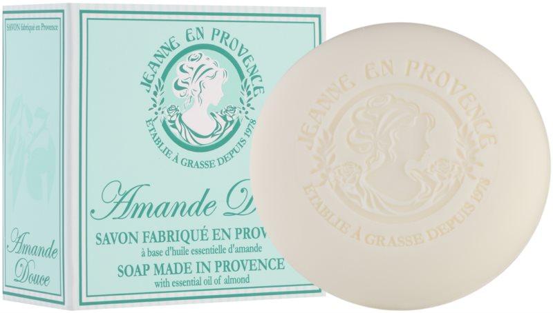 Jeanne en Provence Almond jabón natural francés