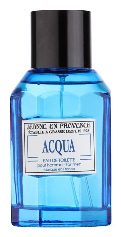 Jeanne en Provence Acqua eau de toilette per uomo 100 ml
