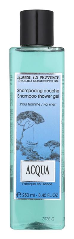 Jeanne en Provence Acqua żel pod prysznic dla mężczyzn 250 ml