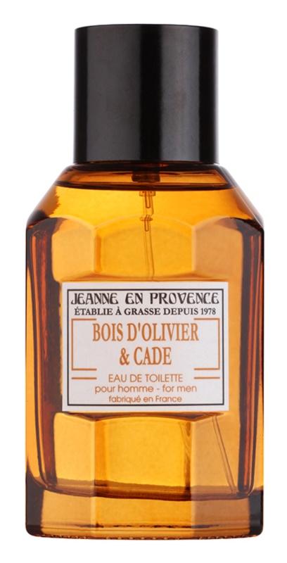 Jeanne en Provence Olive Wood & Juniper toaletná voda pre mužov 100 ml
