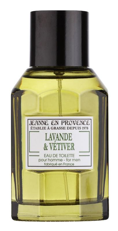 Jeanne en Provence Lavander & Vétiver eau de toilette para hombre 100 ml