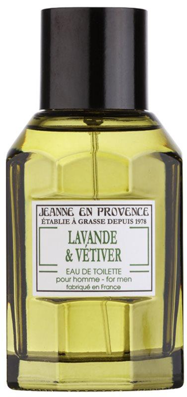 Jeanne en Provence Lavander & Vétiver toaletní voda pro muže 100 ml