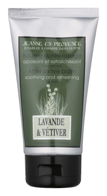 Jeanne en Provence Lavander & Vétiver After Shave Balm for Men 75 ml