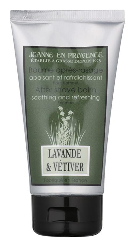 Jeanne en Provence Lavander & Vétiver borotválkozás utáni balzsam férfiaknak 75 ml
