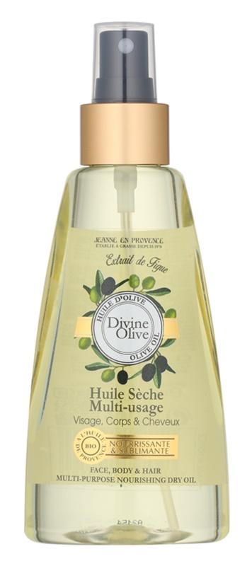 Jeanne en Provence Divine Olive huile sèche visage, corps et cheveux