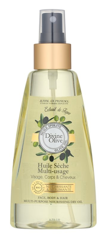 Jeanne en Provence Divine Olive suchý olej na obličej, tělo a vlasy