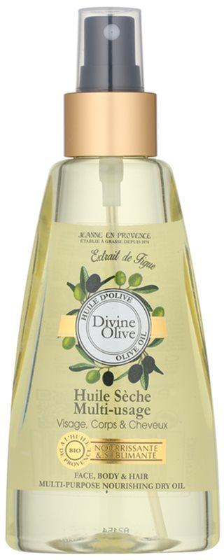 Jeanne en Provence Divine Olive Trockenöl für Gesicht, Körper und Haare