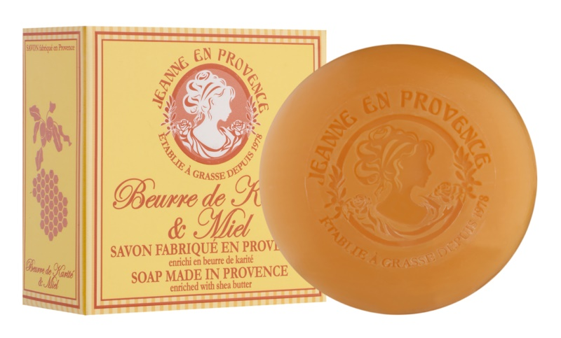 Jeanne en Provence Shea Butter & Honey jabón natural francés