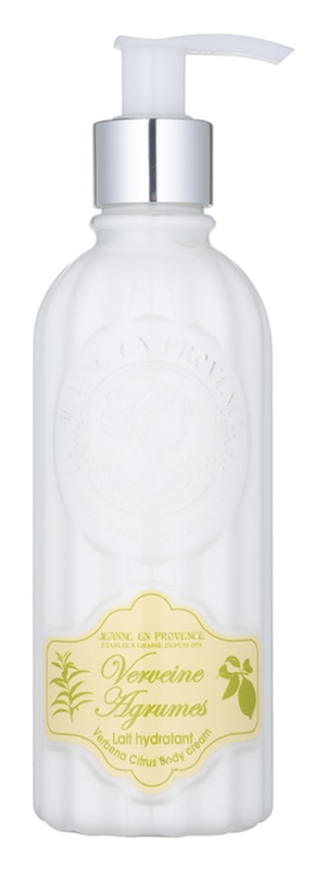 Jeanne en Provence Verbena Citrus crema de corp hidratanta