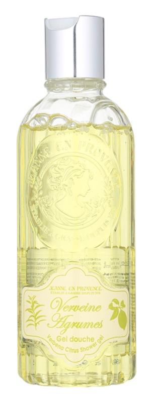 Jeanne en Provence Verbena Citrus Shower Gel