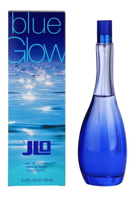 Jennifer Lopez Blue Glow eau de toilette pentru femei 100 ml