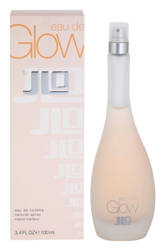 Jennifer Lopez Eau de Glow toaletní voda pro ženy 100 ml