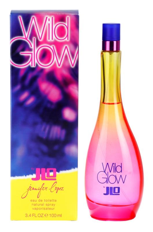 Jennifer Lopez Wild Glow eau de toilette pentru femei 100 ml