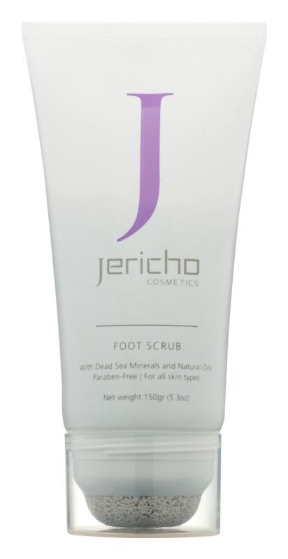 Jericho Men Collection Peeling pentru picioare si calcaie