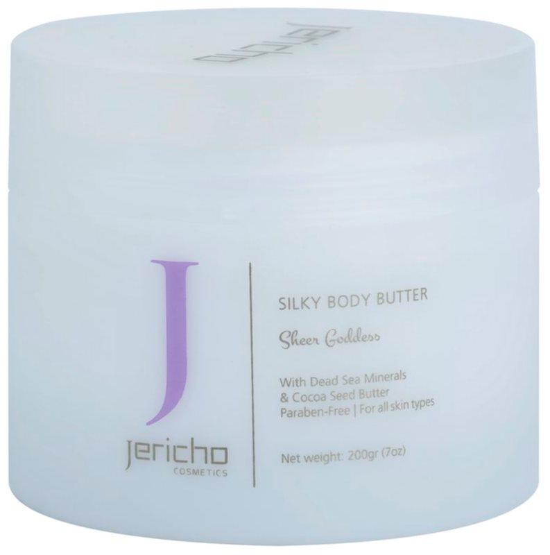Jericho Body Care telové maslo pre jemnú a hladkú pokožku